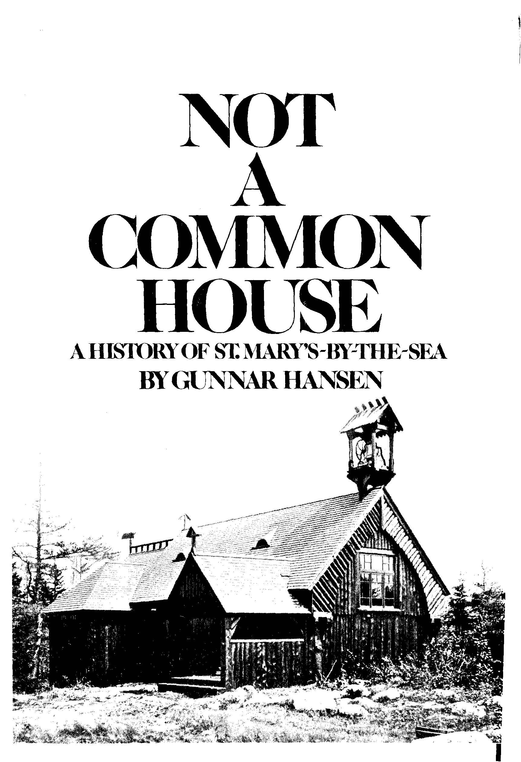 Gunnar Hansen's History Book Cover
